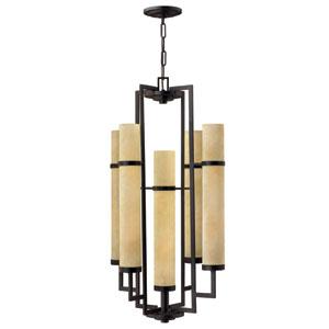 Cordillera Rustic Iron Ten-Light Lantern Pendant