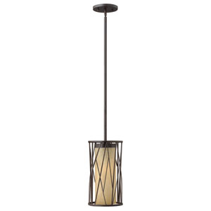 Nest Oil Rubbed Bronze 15-Inch One-Light Mini Pendant