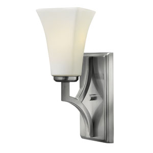 Spencer Brushed Nickel One-Light Wall Sconce