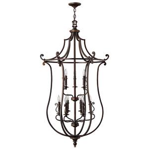 Plymouth Olde Bronze Lantern Pendant