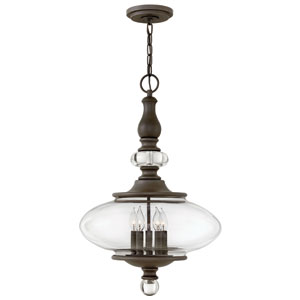 Wexley Oil Rubbed Bronze Five-Light Pendant