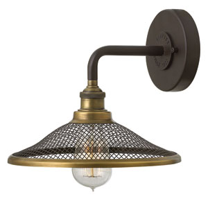 Rigby Buckeye Bronze One-Light Wall Sconce
