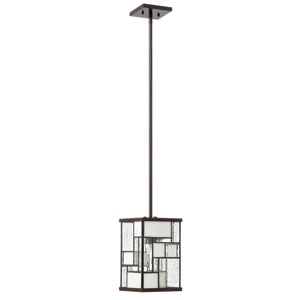 Mondrian Buckeye Bronze One-Light Mini Pendant