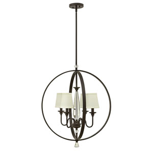Waverly Oil Rubbed Bronze Four-Light Chandelier