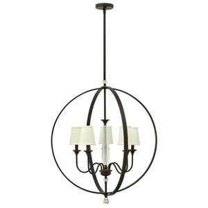 Waverly Oil Rubbed Bronze Five-Light Chandelier