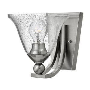 Bolla Brushed Nickel One-Light Wall Sconce