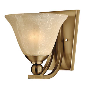Bolla Brushed Bronze One-Light Sconce