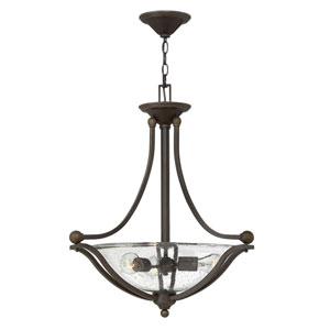 Bolla Olde Bronze Three-Light Inverted Pendant
