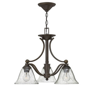 Bolla Olde Bronze Three-Light Chandelier