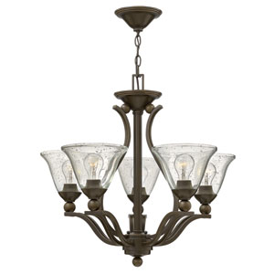 Bolla Olde Bronze Five-Light Chandelier