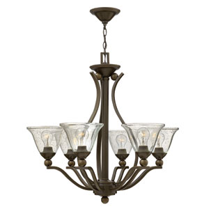 Bolla Olde Bronze Six-Light Chandelier