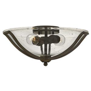 Bolla Olde Bronze 17-Inch Two-Light Flush Mount