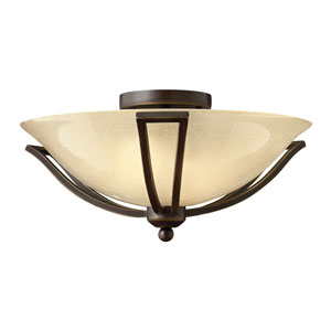 Bolla Olde Bronze Two Light LED Flush Mount