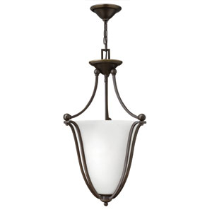 Bolla Olde Bronze 16-Inch Three Light Foyer Pendant