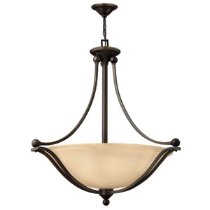 Bolla Olde Bronze 32-Inch LED Three Light Pendant