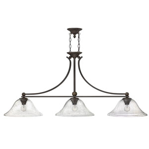 Bolla Olde Bronze Three-Light Island Pendant
