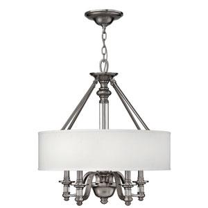 Sussex Brushed Nickel Four-Light Pendant
