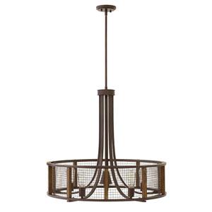 Beckett Iron Rust Four-Light 24-Inch Linear