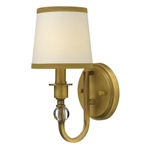 Morgan Brushed Bronze One-Light Sconce