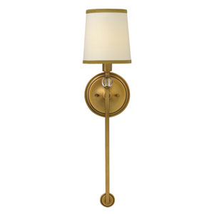 Morgan Brushed Bronze One-Light Wall Sconce
