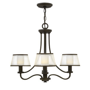 Prescott Olde Bronze Four Light Chandelier
