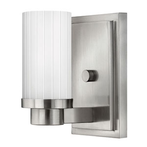 Midtown Brushed Nickel One-Light Sconce