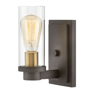 Midtown Oil Rubbed Bronze One-Light Wall Sconce