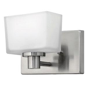 Taylor Brushed Nickel LED Bath Sconce