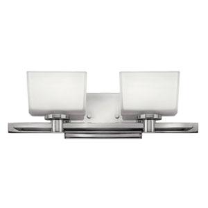 Taylor Chrome Two-Light LED Bath Vanity