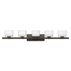 Taylor Buckeye Bronze Five-Light Bath Sconce