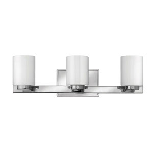 Miley Chrome Three-Light LED Bath Vanity