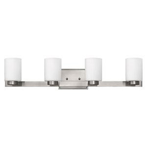 Miley Brushed Nickel Four-Light Bath Light