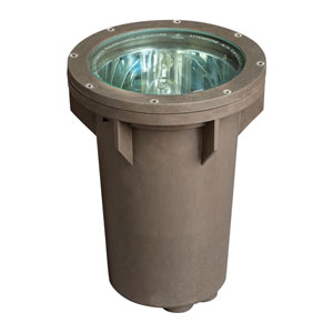 Bronze Line Voltage 13-Inch 100 Watt Landscape Well Light