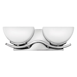 Verve Chrome Two-Light LED Bath Vanity