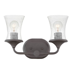 Thistledown Buckeye Bronze Two-Light Bath Light