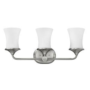 Thistledown Polished Nickel Two-Light 10.5-Inch Bath Light