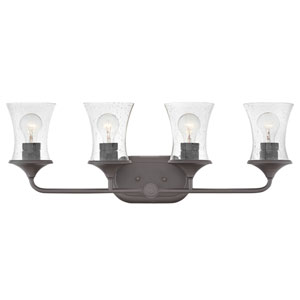 Thistledown Buckeye Bronze Four-Light Bath Light