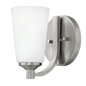 Thistledown Polished Nickel Four-Light 10.5-Inch Bath Light