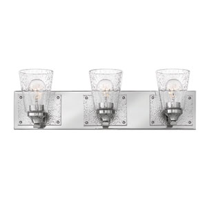Jackson Polished Nickel Three-Light Bath Vanity