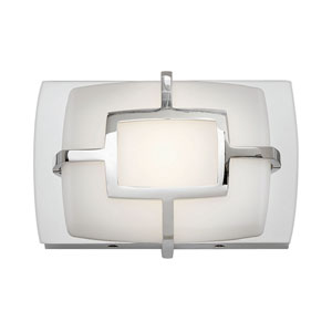 Sisley Polished Nickel LED Bath Sconce