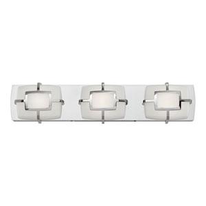 Sisley Polished Nickel 22-Inch LED Bath Light