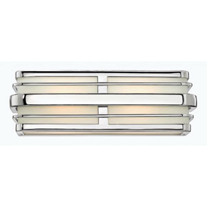 Winton Chrome Two-Light Bath Vanity