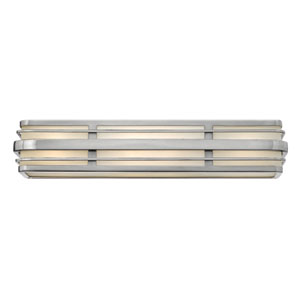 Winton Brushed Nickel Four-Light LED Bath Vanity