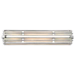 Winton Chrome Four Light Bath Fixture