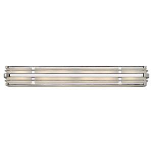 Winton Chrome Six-Light LED Bath Vanity