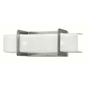 Union Brushed Nickel Two Light Bath Fixture