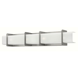Union Brushed Nickel Four Light Bath Fixture