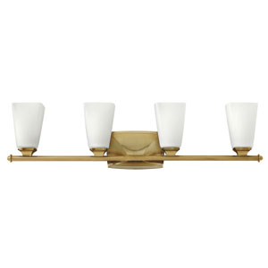 Darby Brushed Caramel Four-Light Bath Sconce
