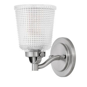 Bennett Polished Antique Nickel 5-Inch One-Light Bath Light