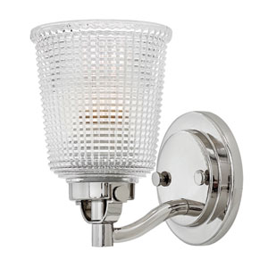 Bennett Polished Nickel Bath Sconce